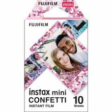 Fujifilm Instax Mini Colour Film with Confetti Border