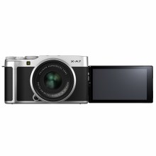 Fujifilm X-A7 Silver with XC 15-45mm F3.5-5.6 OIS PZ