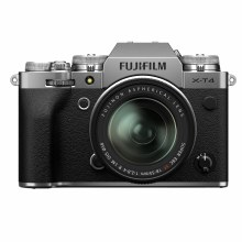 Fujifilm X-T4 Silver Camera with XF 18-55mm F2.8-4 R LM OIS Lens