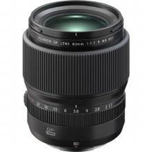 Fujifilm GF  80mm F1.7 R WR Lens