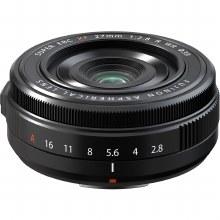 Fujifilm XF  27mm F2.8 WR Black Lens