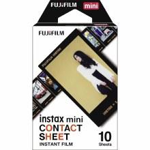 Fujifilm Instax Mini Colour Film with Contact Border