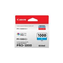 Canon PFI-1000 Inks PFI-1000C Cyan