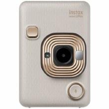 Fujifilm Instax Mini LiPlay Beige Gold Instant Camera