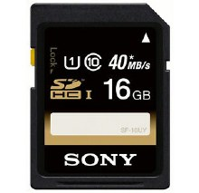 Sony 16GB Experience UHS-I SDHC Cards 90MB/s
