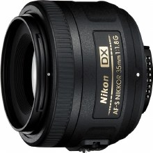 Nikon AF-S  35mm F1.8G DX