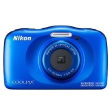 Nikon Coolpix W150 Blue Waterproof Digital Camera