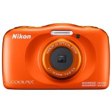 Nikon Coolpix W150 Orange Waterproof Digital Camera