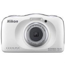 Nikon Coolpix W150 White Waterproof Digital Camera