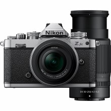 Nikon Z fc Mirrorless Camera with 16-50mm DX VR SE and 50-250mm DX VR Lenses