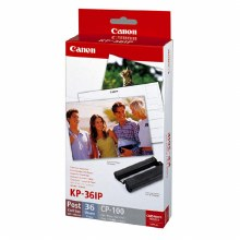 "Canon KP-36IP 6""x4"" Paper & Ink Set for ALL Canon SELPHY Printers"