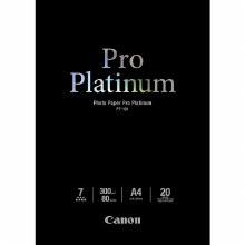 Canon PT-101 Photo Paper Pro Platinum A4 20 Sheets