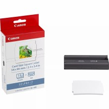 Canon KC-18IS Ink/Paper Set Credit Card Size - 18 Square Stickers