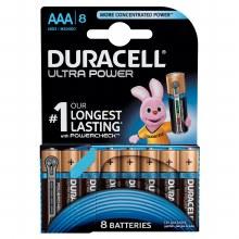 Duracell AAA Ultra Alkaline Pack of 8 LR03