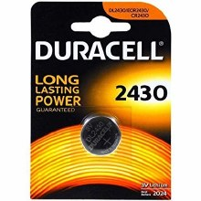 Duracell DL2430 Battery