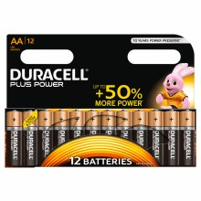 Duracell AA Plus Power Pack Of 12