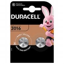 Duracell DL/CR 2016 2x Batteries