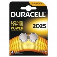 Duracell DL2025 3V Lithium 2PK