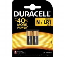 "Duracell Plus MN9100 ""N"" Battery (2 Pack)"