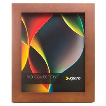 "Kenro RIO  8x6"" / 20x15cm Dark Oak Photo Frame"