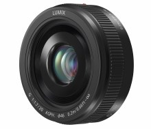 Panasonic H-H  20MM F1.7 II Black