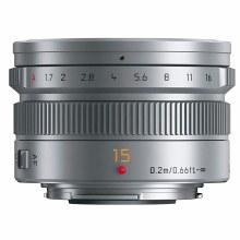 Panasonic H-X  15mm F1.7 ASPH D Silver