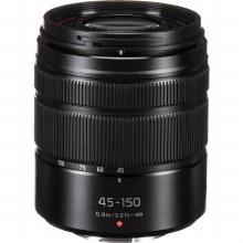 Panasonic H-FS 45-150mm F4-5.6 Asph. Mega O.I.S. Black Lens Lens
