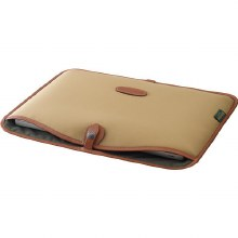 "Billingham 15"" Laptop Slip (Khaki Canvas / Tan Leather)"