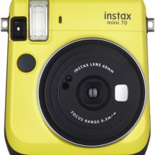 Fujifilm Instax Mini 70 Yellow (inc 10 shots)