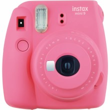 Fujifilm Instax Mini 9  Flamingo Pink  (inc 10 Shots)