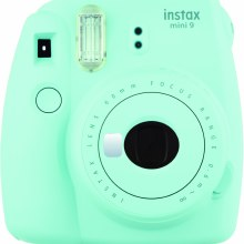 Fujifilm Instax Mini 9  Ice Blue  (inc 10 Shots)