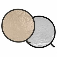 Lastolite 50cm Reflector Sunlite/Soft Silver