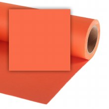Colorama 4.5ft Paper Roll (1.35 x 11m) - Pumkin