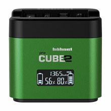 Hahnel ProCUBE2 Dual Battery Charger for Fujifilm