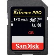 SanDisk 128GB SDXC Extreme PRO UHS-I 170MB/s Card