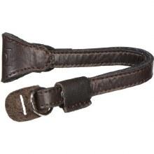 Ona Kyoto Leather Wrist Strap Dark Truffle