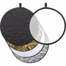 Godox 5-in-1 Reflector RFT-05 (Gold, Silver, Black, White, Translucent) - 110cm