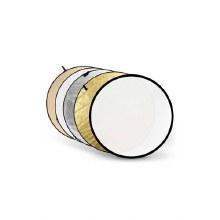 Godox 5-in-1 Reflector (Gold, Silver, Soft Gold, White, Translucent) - 80cm