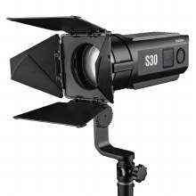 Godox S30 30W Focusing LED Continuous Adjustable Light Spotlight