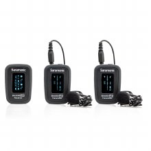 Saramonic Blink 500 Pro B2 Dual-Channel Wireless System with 2 Lavalier Microphones