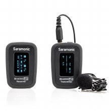 Saramonic Blink 500 Pro B1 Dual-Channel Wireless System with 1 Lavalier Microphone