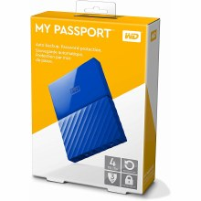 Western Digital My Passport 4TB Black