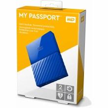 Western Digital My Passport 2TB Blue