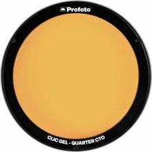 Profoto Clic Gel Quarter CTO