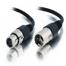 Cables2Go 2m Pro-Audio XLR Male to XLR Female Cable