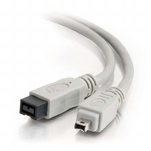 Cables To Go 1m FireWire 800 9-pin to 4-pin Cable