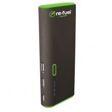 Digipower Re-fuel Dual USB Rechargeable Power Bank 13,000mAh