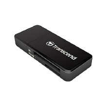 Transcend RDF5 USB 3.0 Card Reader Black