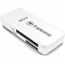 Transcend RDF5 USB 3.0 Card Reader White