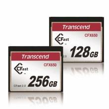Transcend CFast 2.0 CFX650 128GB 512MB/s
